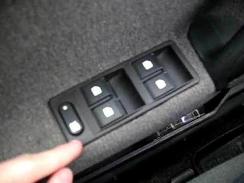 видео: Работа кнопки блокировки задних ЭСП