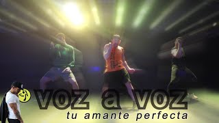 Voz a Voz - Mi amante perfecta // Bachata choreo for zumba by Jose Sanchez