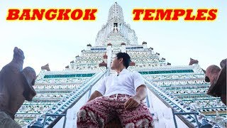 BEST TEMPLES IN BANGKOK THAILAND TOUR | Wat Arun, Wat Pho, Grand Palace