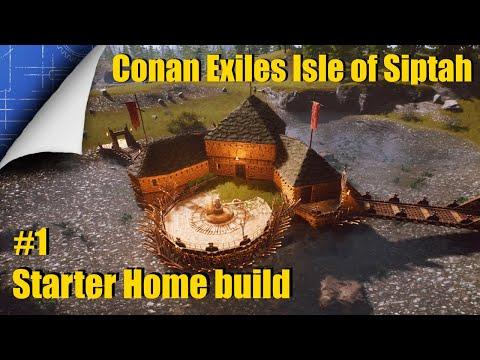 Conan Exiles - Blueprint Builds - Siptah Starter Home #1 |