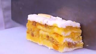 東張西望 | 兒時味道 蛋黃千層糕古法炮製