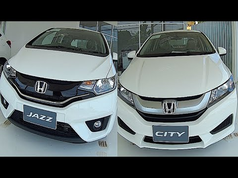 Honda City 2015 2016 Vs Honda Jazz Fit 2015 2016 Youtube