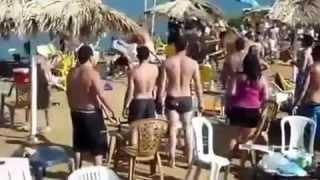Sherr esktrem ne plazhin - Dhermi 2012