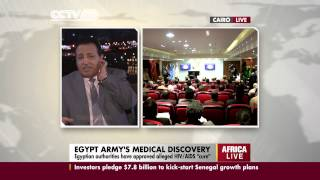 Dr. Abdel Hady Mesbah on HIV/AIDS Cure In Egypt