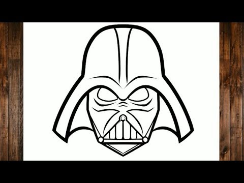 Como Desenhar O Darth Vader Star Wars Youtube