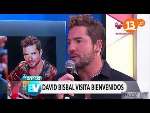 David Bisbal En Bienvenidos - Chile 23/11/16