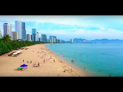 Bãi Biển Nha Trang - Nha Trang Beach (Flycam) - CHECKIN VN