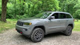 2019 Jeep Grand Cherokee Trailhawk 5k Mile Review
