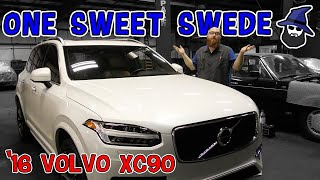 One Sweet Swede! 2016 Volvo XC90 loudly roars into the CAR WIZARD'S shop.