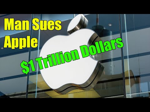 Crazy Man Sues Apple For 1 Trillion Dollars For Calling Him Crazy