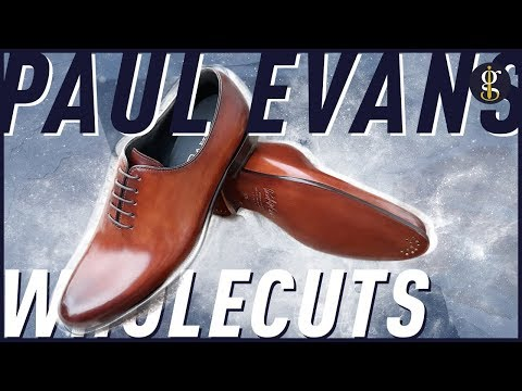 PAUL EVANS Wholecut Shoe Review | The Martin Oxford In Havana Brown