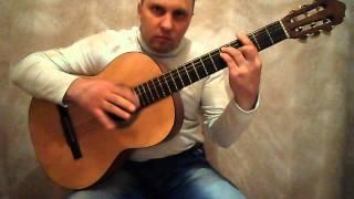 Суперотрывной испанский бой на гитаре.Урок #1
