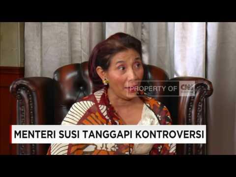 Menteri Susi Tanggapi Kontroversi (Full Version)