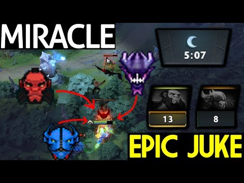Miracle- Dota 2 [Morphling] Epic Juke and Counter Gank thumbnail