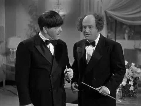 The Three Stooges 109 Heavenly Daze 1948 Curly, Larry, Moe