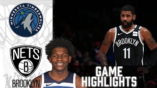 Timberwolves vs Nets HIGHLIGHTS Full Game | NBA March 29