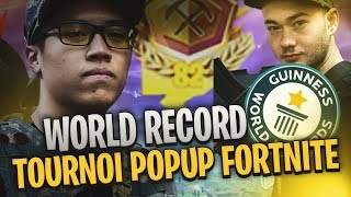WORLD RECORD FORTNITE - 82 POINTS POPUP CUP