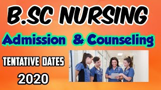 B.Sc Nursing Admission & Counseling Date in Tamilnadu   B.sc Nursing course in tamil   B.Sc Nursing