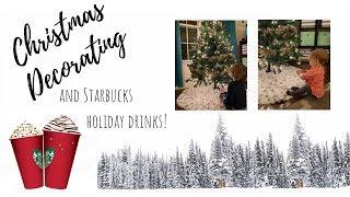 Christmas Decor // Starbucks // Baby Grinch