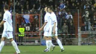 Luxembourg - France avec Guy Blaise (25/03/2011) - Images FOOTLUX.BE