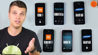 "КТО ""ЖИВУЧЕЕ""? Honor 10i, Honor 10 lite, Redmi 7, Redmi Note 7, Galaxy A50, Galaxy A30   Andronews"
