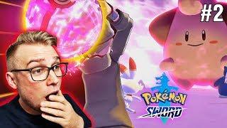 ROBIĘ RAIDY NA GIGANTYCZNE POKEMONY ! (Pokemon Sword, odc. 2)