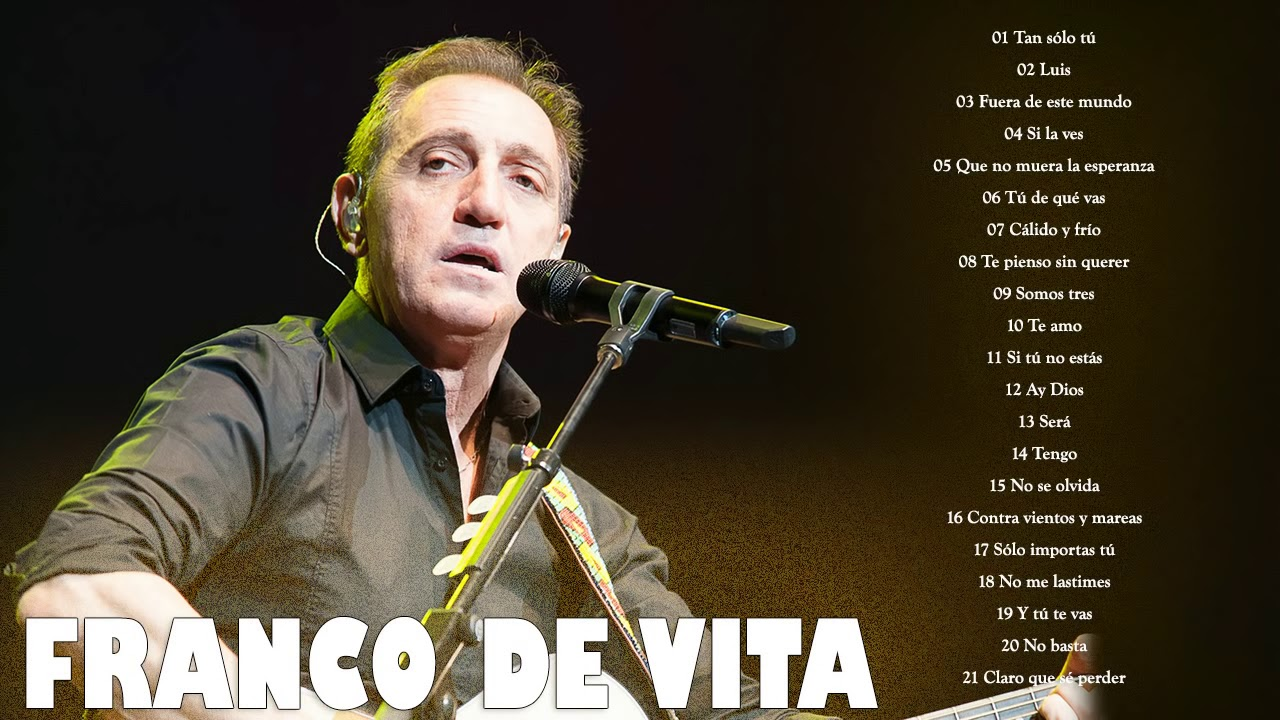 Franco De Vita Exitos Sus Mejores Canciones Franco De Vita Mix Exitos Youtube