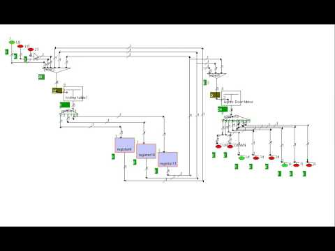 Elevator Logic Circuit Simulation - YouTube