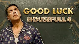 Housefull 4 | Good Luck |Akshay|Riteish|Bobby|Kriti S|Pooja|Kriti K|Sajid N|Farhad| Oct 25