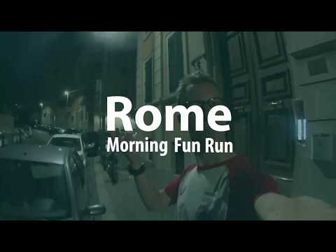Rome: Early Morning Run around the Vatican