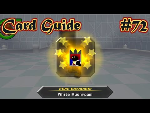 Kingdom Hearts: Re Chain Of Memories - Part 72 - White Mushroom Enemy Card Guide