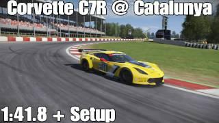 Project Cars Corvette C7R Catalunya Gp Hotlap + Setup 1:41.8 (No Assists)