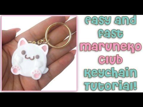 Easy & Fast Maruneko Club Keychain Resin Tutorial!
