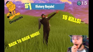 FORTNITE! Back to Back Epic Solo Wins? More like Free V-Bucks. Ali-A Confirmed