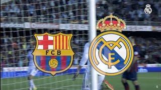 برشلونة 1 ضد ريال مدريد  4     ليلة تألق الريال