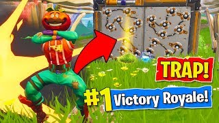 TROLLING THE FINAL PLAYER In Fortnite Battle Royale! (How To Trap a Noob!)