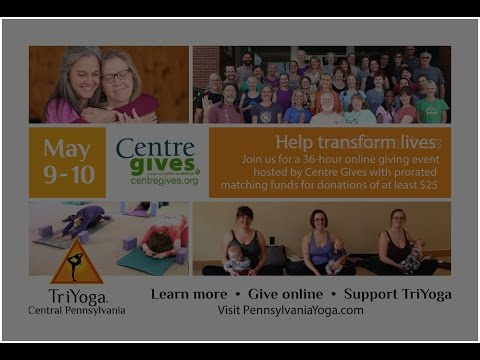 TriYoga Central Pennsylvania 2017 Centre Gives Campaign