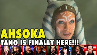 Reactors Reaction To Seeing Ahsoka Tano Live On The Mandalorian Season 2 Episode 5 | Mixed Reactions