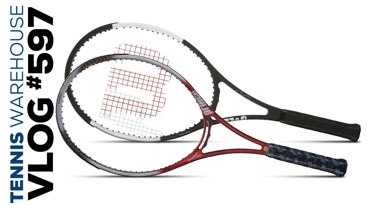 f4fda4e17 Roger Federer s new Wilson Pro Staff racquet is here! -- VLOG  597. Tennis  Warehouse