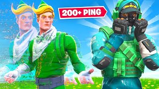 $50,000 Fortnite Tournament but I have 200+ Ping...