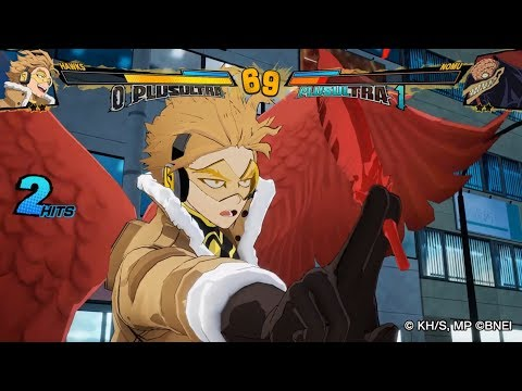 My Hero Academia One's Justice 2 - Hawks DLC Character Gameplay! (HD)