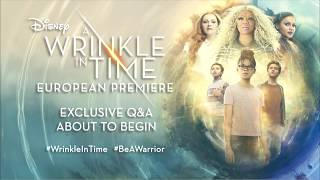 LIVE: #WrinkleInTime Q+A in association with The Female Lead and Sunday Times Style #BeAWarrior