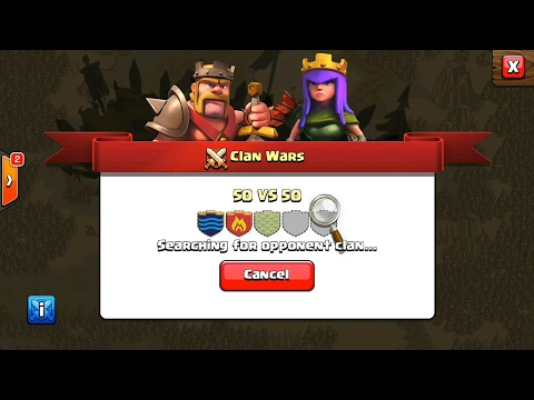 How The War Matchmaking System Works - Clash Of Clans