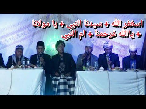 Abu turob astagfirulloh + sidnan nabi + ya maulana + yalloh farhamna + ummin nabi