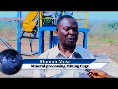 A peep into NASAMAN gold processing factory Islanu Kogi State