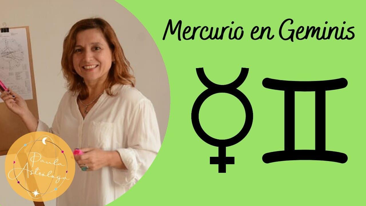 Aprendiendo astrología. Mercurio en géminis