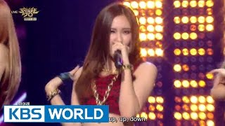 EXID - AH YEAH (아예) / Up&Down (위아래) [The 2015 First Half Year Special / 2015.06.26]