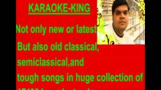 Ghunghroo toot gaye karaoke -- Pankaj udhas