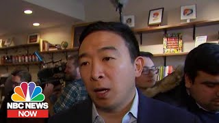 Andrew Yang: Iran Escalation 'Heightens Urgency' To Get Trump Out Office | NBC News NOW