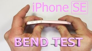 NEW iPhone SE - Bend Test - Scratch Test - Burn Test(, 2016-03-31T23:39:36.000Z)
